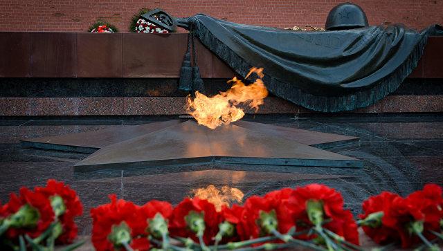 ВАлександровском саду подчеркнули 50-летие бессрочного огня