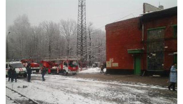 Возгорание на тамбовском пороховом заводе. Архивное фото