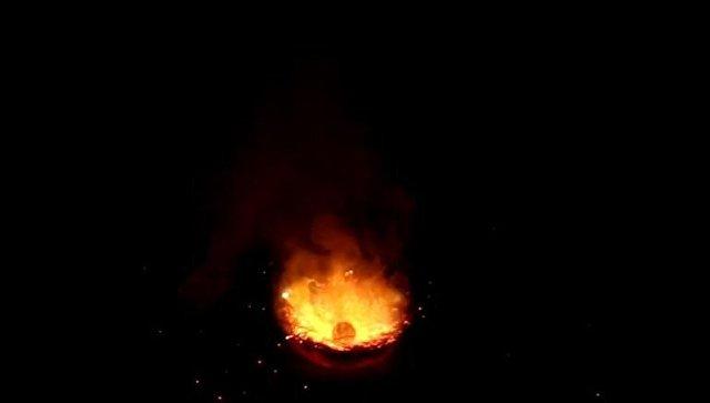 Хорошо горит!
