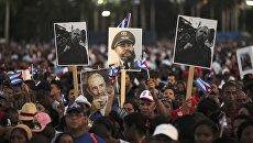Жители Сантьяго-де-Куба прощаются с Фиделем Кастро. 4 декабря 2016 год