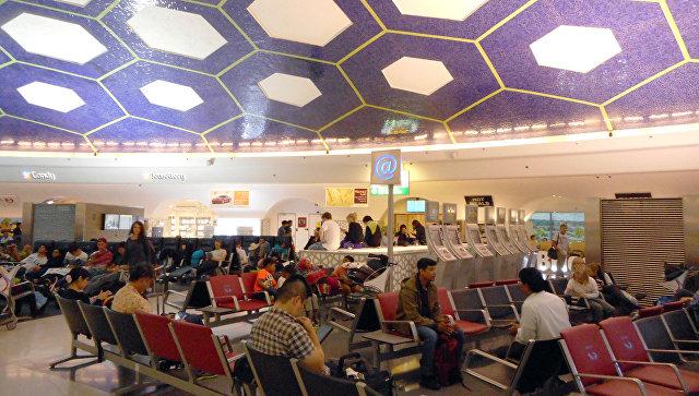 В международном аэропорту в ОАЭ. Архивное фото