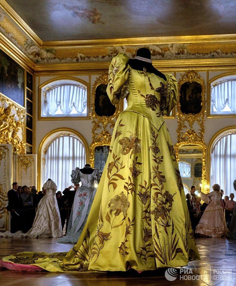 Открытие выставки костюмов к фильму Матильда в Царском селе