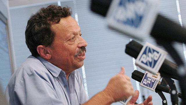 Пресс-конференция израильского писателя и общественного деятеля Исраэля Шамира