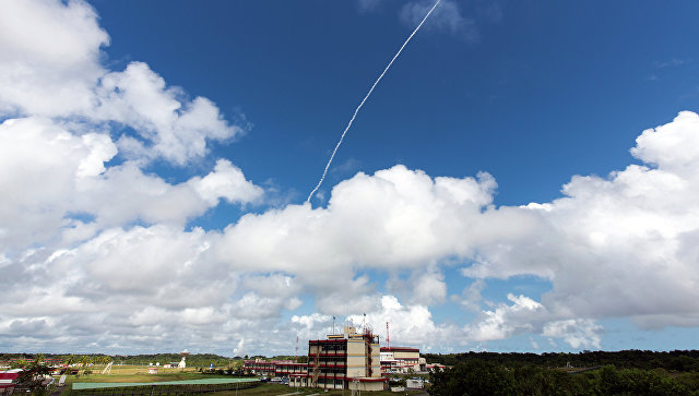 Запуск европейского экспериментального беспилотного суборбитального многоразового космического корабля IXV с космодрома Куру, Французская Гвиана