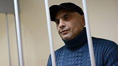 Задержанный сотрудниками ФСБ России в Крыму Андрей Захтей в Лефортовском суде Москвы. Архивное фото