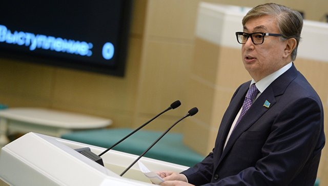 Глава Сената парламента Казахстана Касым-Жомарт Токаев. Архивное фото