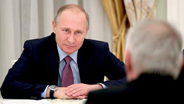 Путин: армия РФ показала высокий боевой дух впроцессе операции вСирии