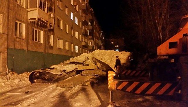 Вдоме вХабаровском крае, где взорвался газ, завершены аварийные работы