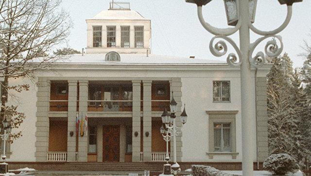 В этом здании 8 декабря 1991 года состоялось подписание соглашения о создании Содружества Независимых Государств