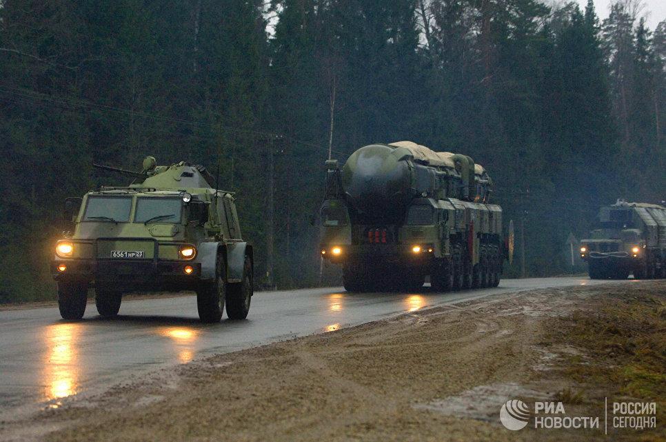 Эшелонированная система охраны ракетного комплекса Тополь-М