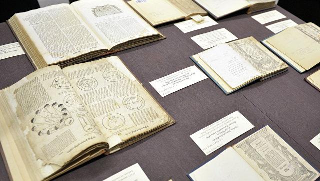 Книги из коллекции Шнеерсона. Архивное фото