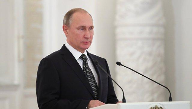 Владимир Путин проведет праздничный прием послучаю Дня Героев Отечества
