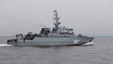 Корабль противоминной обороны Александр Обухов. Архивное фото