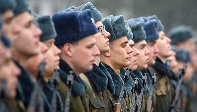 Церемония принятия военной присяги в Белоруссии. Архивное фото