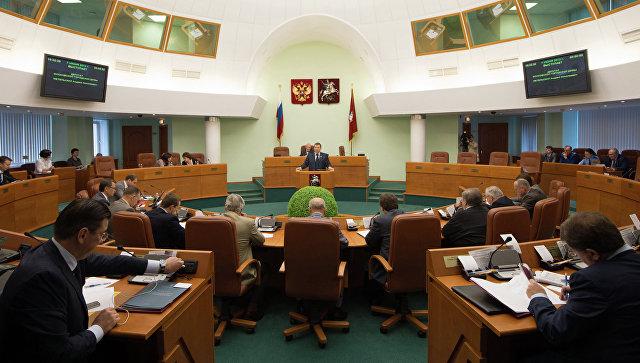 Заседание Мосгордумы. Архивное фото