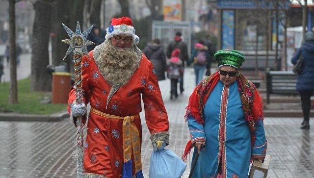 Киев перед Новым Годом