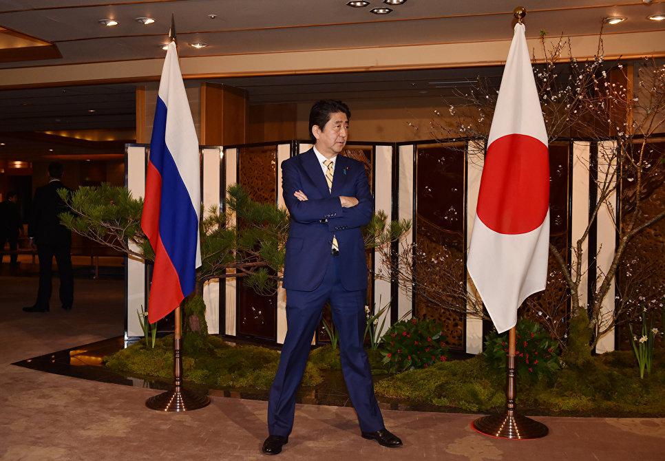 Премьер-министр Японии Синдзо Абэ. 15 декабря 2016