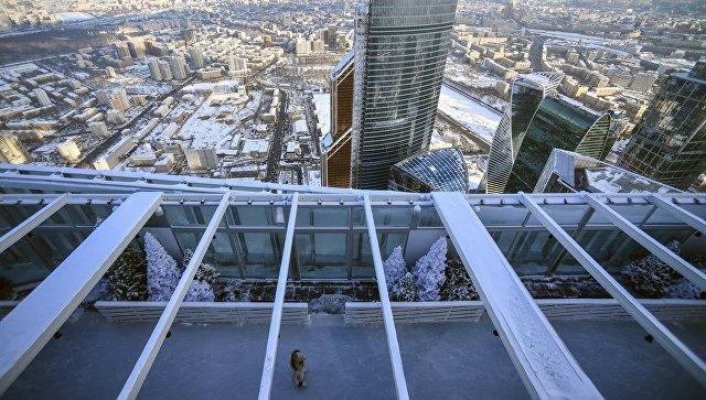 СКпроводит проверку после падения мужчины с86-го этажа в«Москва-Сити»