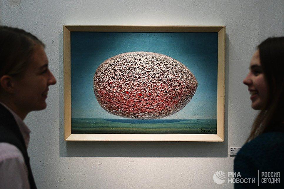 На открытии выставки Московская оттепель: 1953-1958 в Музее Москвы
