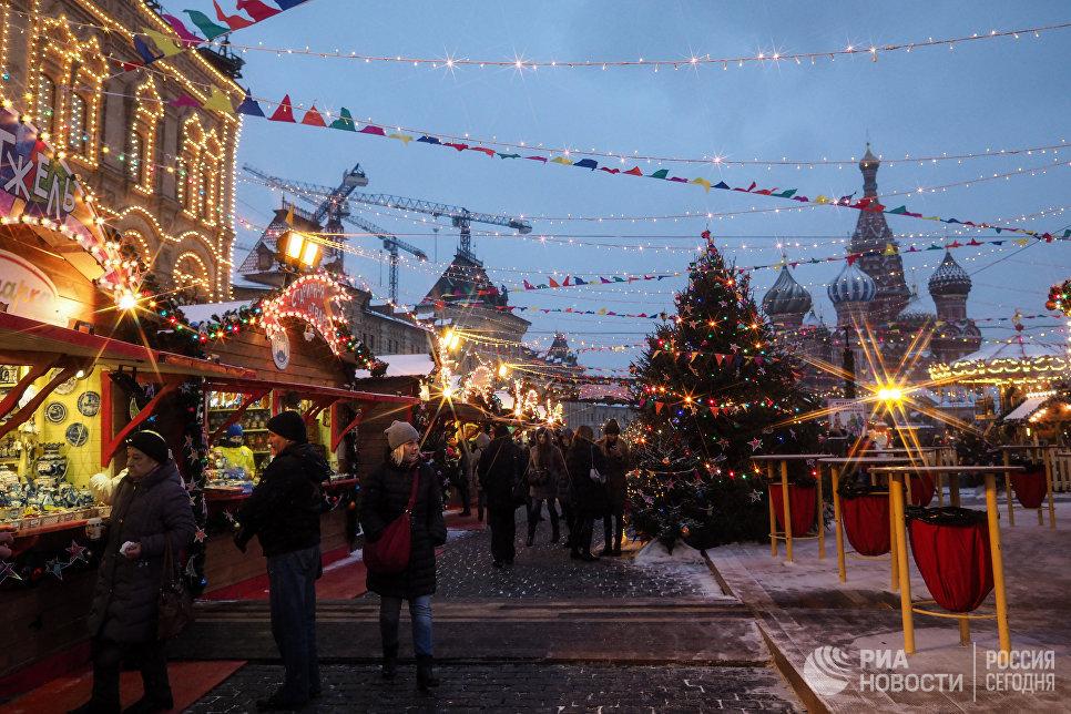 ГУМ-Ярмарка на Красной площади в Москве