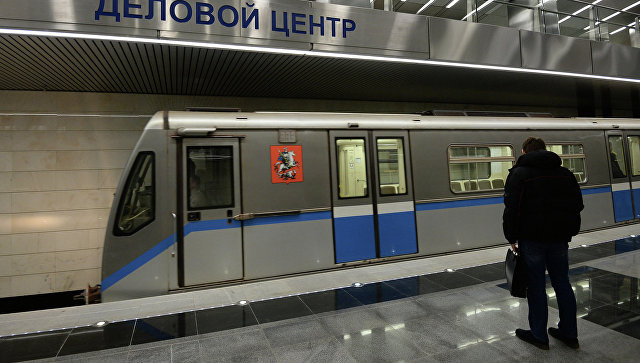 Станция метро Деловой центр. Архивное фото