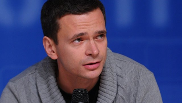 Илья Яшин, лидер партии Солидарность. Архивное фото