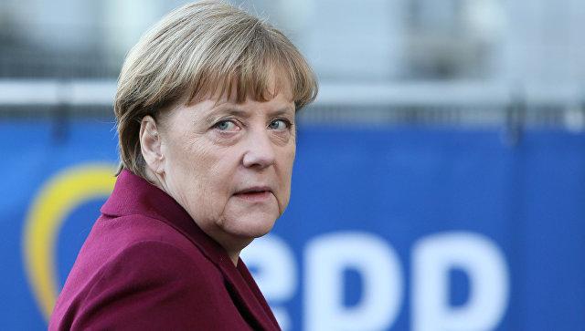 Ангела Меркель в Брюсселе. 15 декабря 2016 года