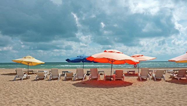 Пляж в Анапе. Архивное фото