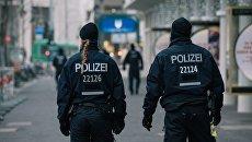 Сотрудники полиции в Берлине. Архивное фото