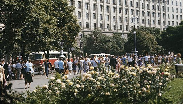 Крещатик. Киев