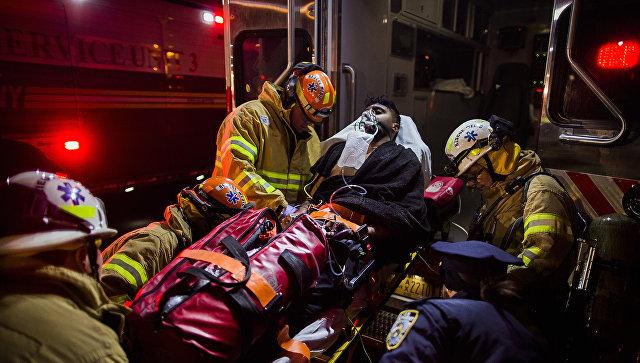 Впроцессе пожара внью-йоркском небоскребе пострадали 24 человека