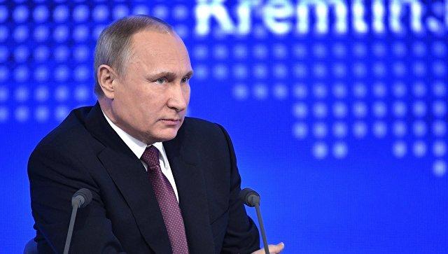 Путин уверен ввосстановлении отношений РФ иУкраины