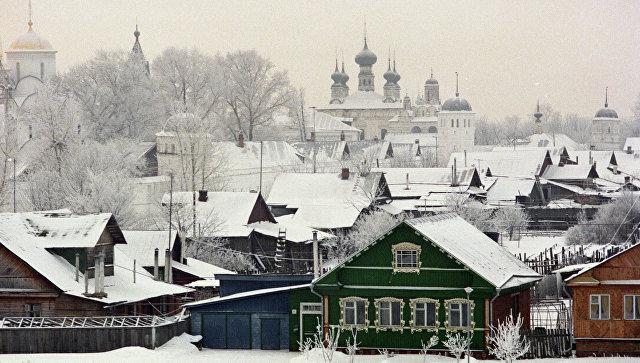 Город Суздаль в Владимирской области. Архивное фото