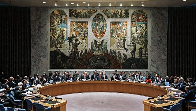 Заседание СБ ООН. Архивное фото