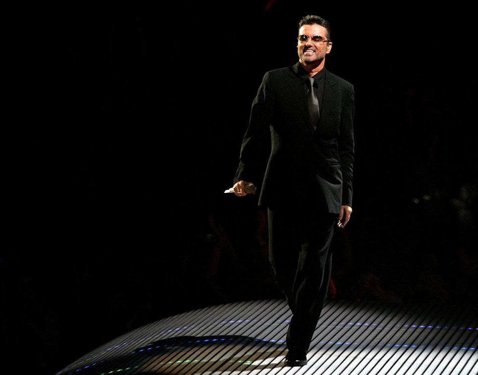 Британский певец Джордж Майкл. 2006 год