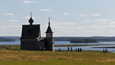Никольская часовня (начало XIX в.) в селе Вершинино в Кенозерском национальном парке
