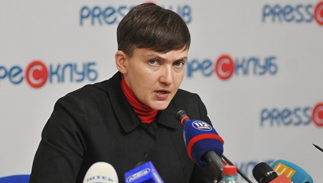 Савченко обнародовала списки пленных украинских силовиков