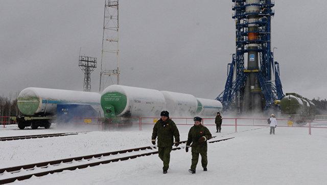 Стартовый комплекс космодрома Плесецк. Архивное фото