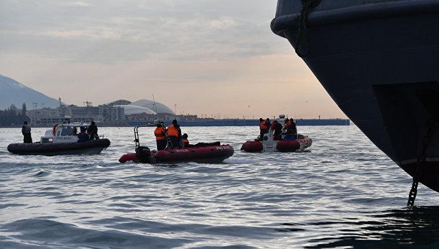 Наместе крушения Ту-154 поисковая операция не закончится