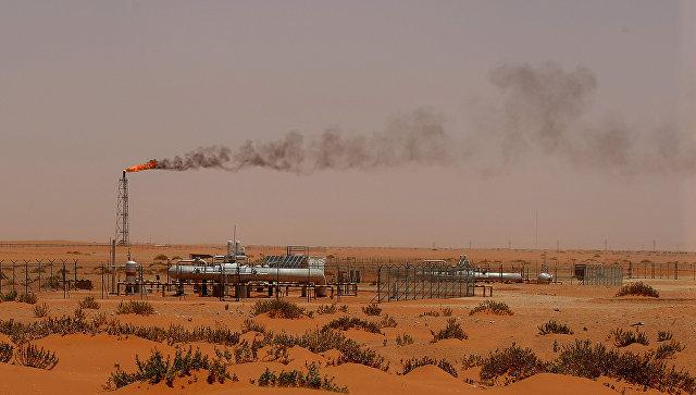 Добыча нефти в Саудовской Аравии. Архивное фото