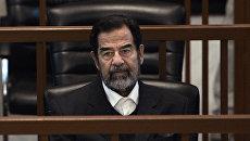 Трибунал над бывшим иракским президентом Саддамом Хусейном. Архивное фото