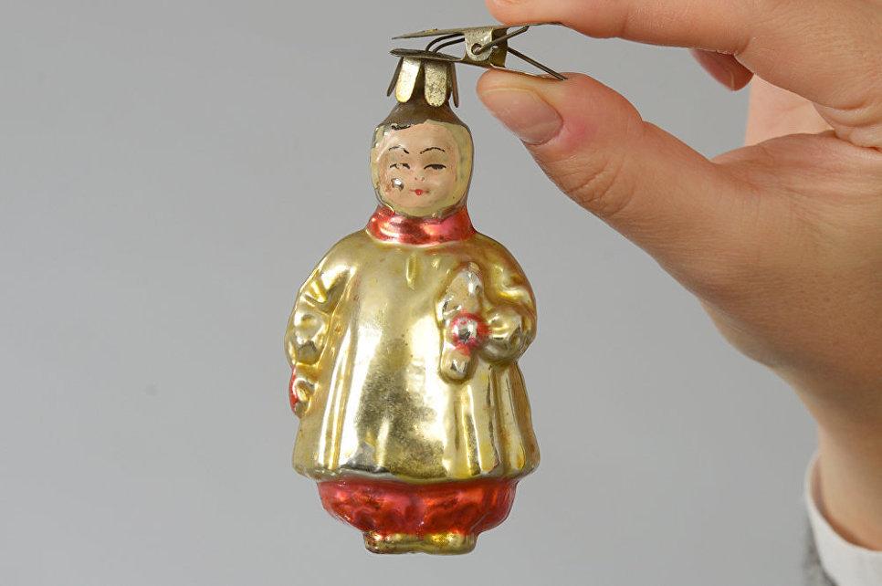 Елочные украшения из коллекции Московского Музея Дизайна