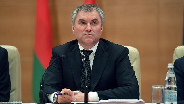 Володин разъяснил отказ Владимира Путина принимать законодательный проект Государственной думы