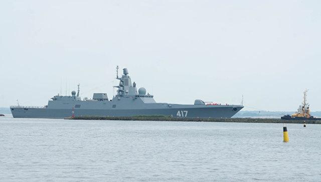 Фрегат проекта 22350 Адмирал Горшков. Архивное фото