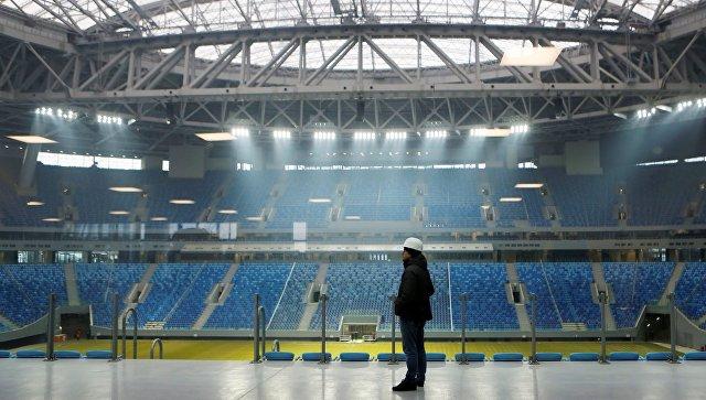 «Зенит-Арена» будет сдана комиссии ФИФА вконце февраля