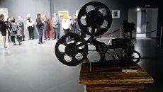 Посетители на открытии Музея кино на ВДНХ в Москве