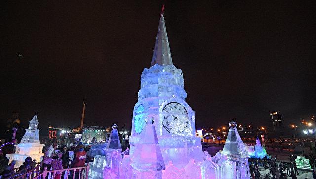 Новогодний фестиваль Ледовая Москва. В кругу семьи. Архивное фото
