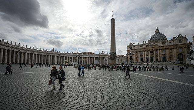 В помещении Ватикана открылся McDonald's