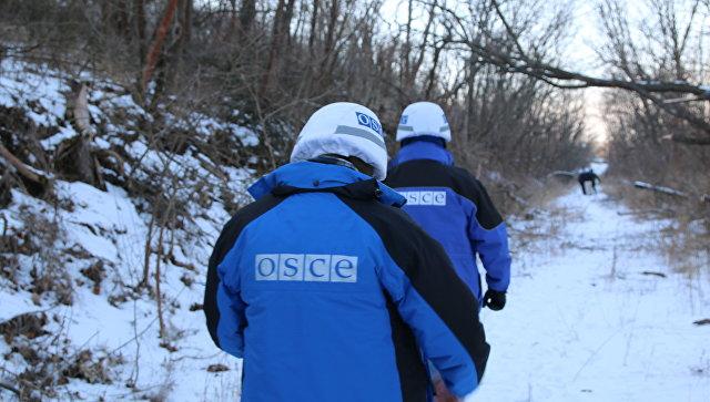 Силовики обстреляли позиции ополченцев ЛНР в присутствии замглавы СММ ОБСЕ