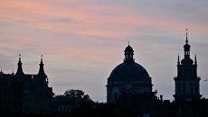 Западная Украина, город Львов. Архивное фото